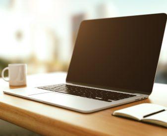 Moderner Laptop
